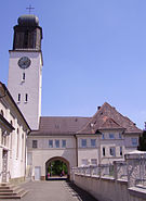 Katholische Kirche von Rheingoenheim
