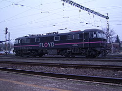 Floyd ZRt. British Rail 86 sorozatú villamosmozdonya Kecskemét