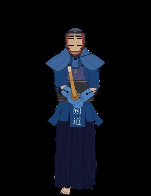 Kendo target areas, or datotsu-bui.