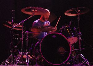 The Sword - Kevin Fender replaced founding member Trivett Wingo in 2010 and was the touring drummer for The Sword until 2011.