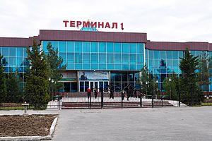 Khujand - Khujand airport terminal