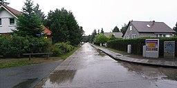 Kieler Straße in Glienicke (Nordbahn)