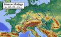 Kimbernkriege, Karte 1.png