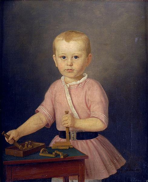 File:Kind mit Bauklötzen 1853.jpg