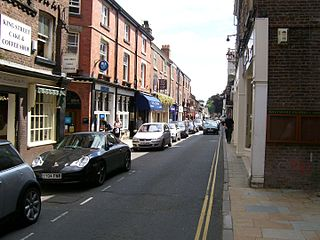 Knutsford town in Cheshire, England, United Kingdom