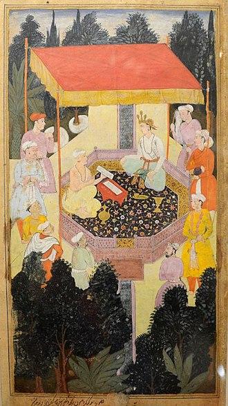 Chyavana - King kushik with sage Chyavan.