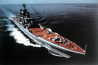 Soviet Navy - Kirov-class battlecruiser is a class of nuclear-powered warship.