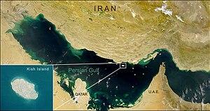 Kish Island - Kish Island, Persian Gulf.