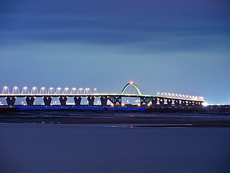 Kitakyushu Airport - Bridge to Kitakyushu Airport