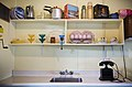 Kitchen sink and cupboard in a beach house, Auckland - 1005.jpg