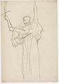 Klimt - Stehende mit Schwert in der erhobenen Rechten.jpeg