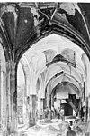 kloostergang west gedeelte tijdens restauratie - middelburg - 20154382 - rce