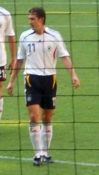 Miroslav Klose - Klose playing in the 2006 World Cup