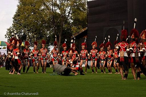 Konyak tribe hornbill festival