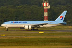 Korean Air, HL7530, Boeing 777-2B ER (23859560860).jpg