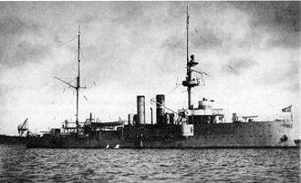 Russian gunboat Korietz - The second Korietz