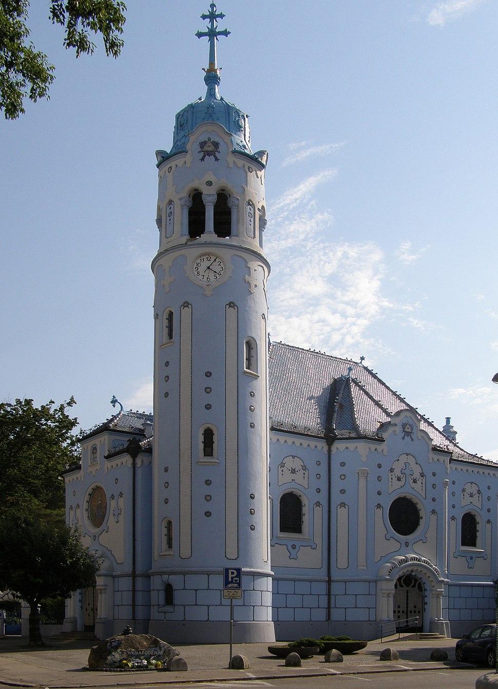 Kosciol Elzbiety w Bratyslawie