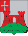 Kremenets COA (Volyn Governorate) (1874).png