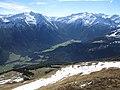 Krimml, view from Gernkogel Mountain, Wald im Pinzgau.jpg