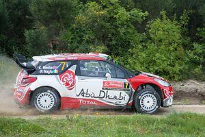 Citroën DS3 WRC - Image: Kris Meeke Baiao Rally de portugal 2016