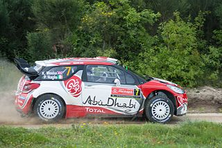 Citroën DS3 WRC World Rally Car
