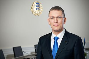 Minister of Economic Affairs and Infrastructure (Estonia) - Image: Kristen Michal, 2011