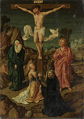Crucifixion with the Virgin, Saint John, Mary Magdalene, a Donor
