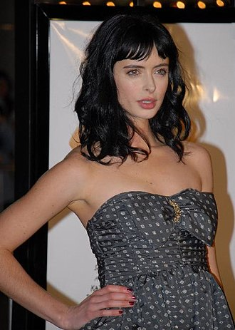 Krysten Ritter - Ritter at the premiere of 27 Dresses in January 2008