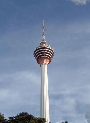 1996 in Malaysia - Kuala Lumpur Tower.