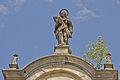 Kuefsteinische Gruftkapelle hl. Anna in Röhrenbach - Giebelfigur hl. Anna.jpg