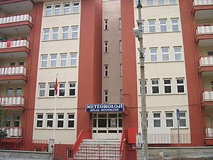 Turkish State Meteorological Service - Turkish State Meteorological Service office building
