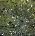 Kusatsu city center area Aerial photograph.1987.jpg