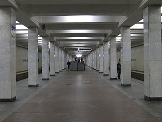 Kuzminki (Moscow Metro) - Image: Kuzminki (Кузьминки) (5063984835)