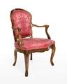 Länstol, 1700-talets mitt - Hallwylska museet - 110065.tif