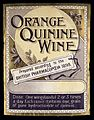 LABEL; Orange Quinine Wine. Prepared accord Wellcome L0031626.jpg