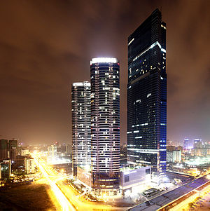 Economy of Vietnam - Keangnam Hanoi Landmark Tower is the tallest building in Vietnam.