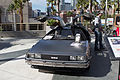 LBCC 2013 - Back to the Future DeLorean (11028128206).jpg