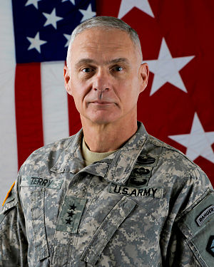 James L. Terry - Lieutenant General James L. Terry Commanding General, U.S. Army V Corps