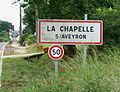 La Chapelle-sur-Aveyron-FR-45-panneau d'agglomération-01.JPG