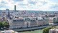 La Conciergerie vue de la Tour Saint-Jacques, Paris août 2014.jpg