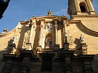 La Fatarella - Frontal de l'església de Sant Andreu.jpg