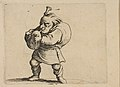 La Jouer de Cornemuse (The Bagpipe Player), from Varie Figure Gobbi, suite appelée aussi Les Bossus, Les Pygmées, Les Nains Grotesques (Various Hunchbacked Figures, The Hunchbacks, The Pygmes, The Grotesque Dwarfs) MET DP818532.jpg