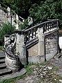 La Mulatière - Quai Jean-Jacques Rousseau - Belle Rive - Escalier monumental - Partie droite.jpg