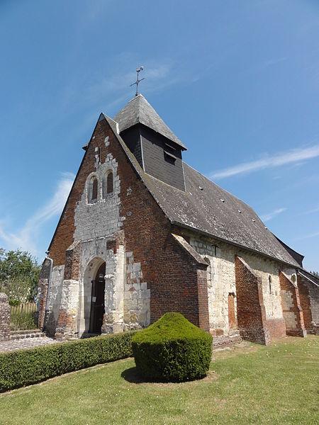 La Neuville-Housset (Aisne) église
