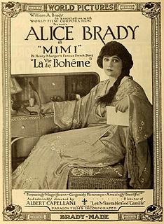 <i>La Bohème</i> (1916 film) 1916 film by Albert Capellani