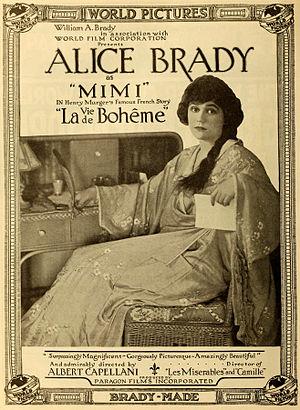 La Bohème (1916 film) - 1916 advertisement