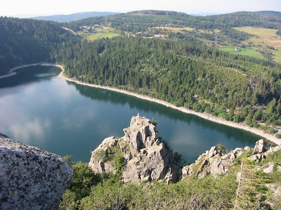 Lac Blanc Rocher Hans
