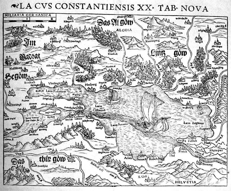 Lacus Constantiensis 1540