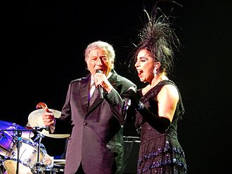 Cheek to Cheek Tour - Bennett and Gaga performing in Las Vegas at The AXIS at the Planet Hollywood Resort & Casino