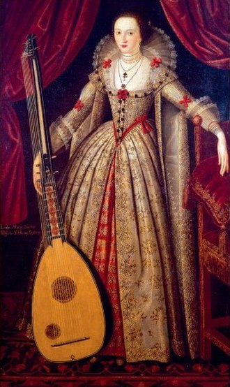 Lady Mary Wroth - Portrait of Lady Mary Wroth